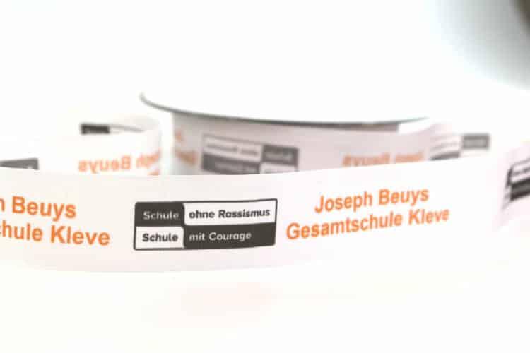 Bedruckte Bänder für Schulen - personaliserte-bander