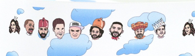 Per Digitaldruck kommt die Comedy-Gruppe auf's Band - personaliserte-bander