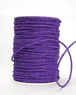 Baumwollkordel lila, 3 mm - kordeln