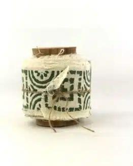 Baumwollband Sonnenstern, 55 mm breit - sonderangebot, geschenkband-gemustert, dekoband, 30-rabatt