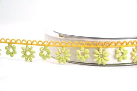 Blütengirlande hellgrün-gelb - dekogirlande