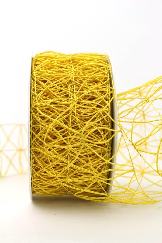 Gitterband gelb, 60 mm - gitterband, andere-baender