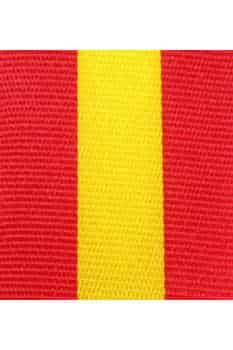 Dekoband Spanien, 25 mm - nationalband