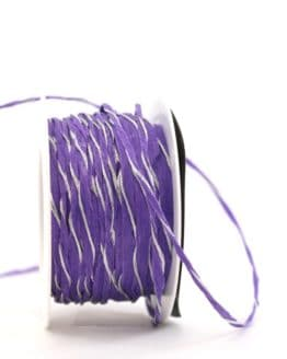 Dekokordel lila-silber, 3 mm - kordeln, andere-baender