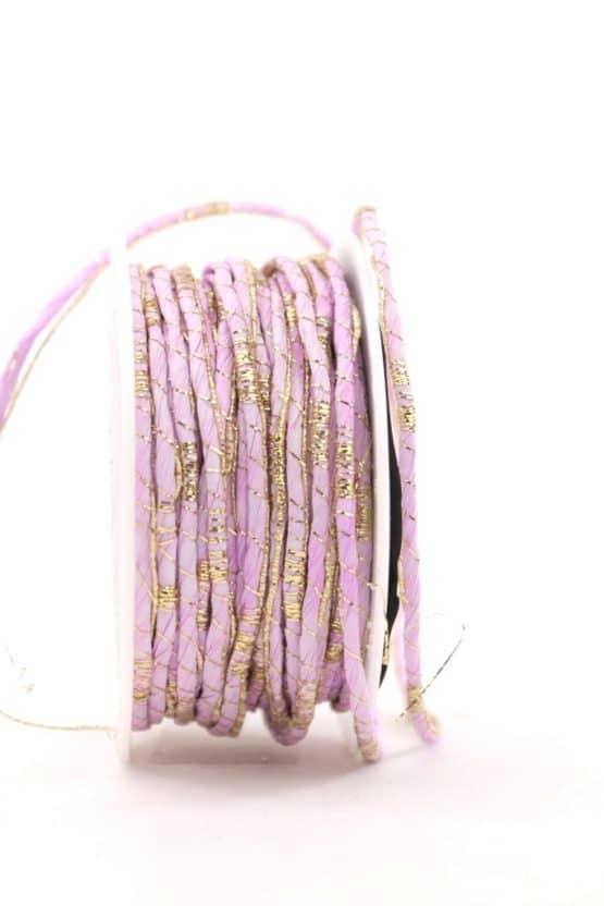 Dekokordel rosa-gold, 2 mm - kordeln, andere-baender