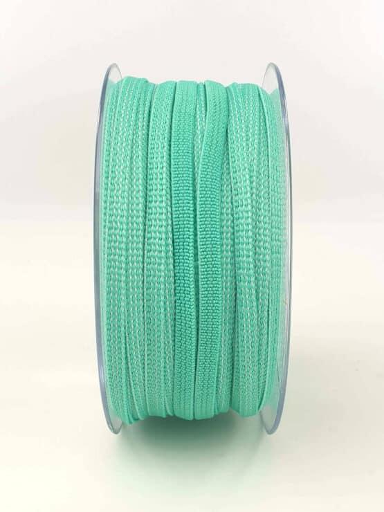 Gummiband (Elastikband) für selbstgenähte Mund-Nasen-Masken in grün - elastikband, corona-hilfsmittel