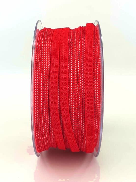 Gummiband (Elastikband) für selbstgenähte Mund-Nasen-Masken in rot - elastikband, corona-hilfsmittel