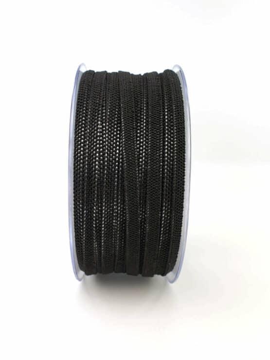 Gummiband (Elastikband) für selbstgenähte Mund-Nasen-Masken in schwarz - elastikband, corona-hilfsmittel