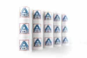Unsere Eröffnungsbänder für Aldi - eroeffnungsband