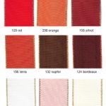 Farben 40001 Dekoband mit Goldkante Seite 1