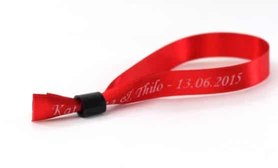 Verschluss für Armbänder aus Satinband, schwarz - verschluss, armbaender