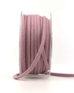 Flechtkordel, lavendel, 4 mm stark - kordeln, andere-baender