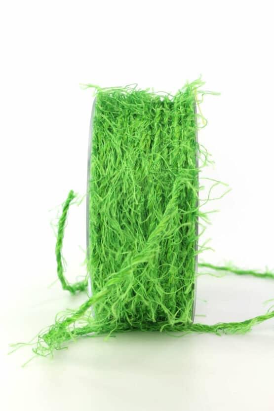 Fransenkordel, grün, 3 mm stark - kordeln, andere-baender