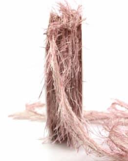 Fransenkordel, altrosa, 2 mm stark - kordeln, andere-baender