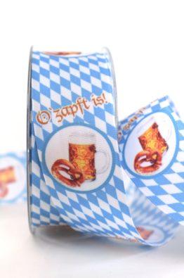 Geschenkband Bayrisch Oktoberfest 40mm (804074000015)