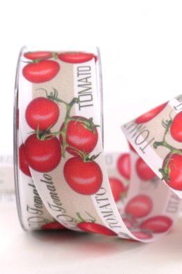 Geschenkband Tomaten Tomato 40mm (803884000015)