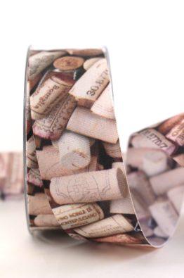 Geschenkband Weinkorken 40mm (403834000015)