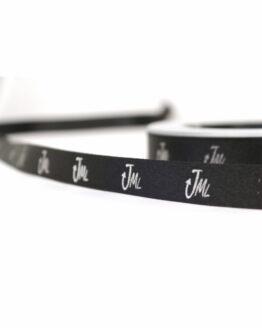 Premium-Geschenkband, einfarbig bedruckt, 25 m Rolle - satinband, personalisierte-baender
