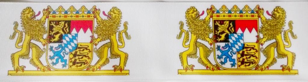 Für Vereine und Behörden: Geschenkbänder mit Wappen bedrucken lassen - personaliserte-bander