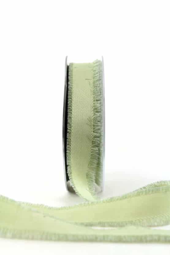 Leinenband, mintgrün, 25 mm breit - geschenkband, geschenkband-einfarbig