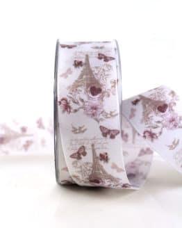 """Geschenkband """"L'amour"""", 40 mm breit - hochzeit, geschenkband, geschenkband-fuer-anlaesse, anlasse"""