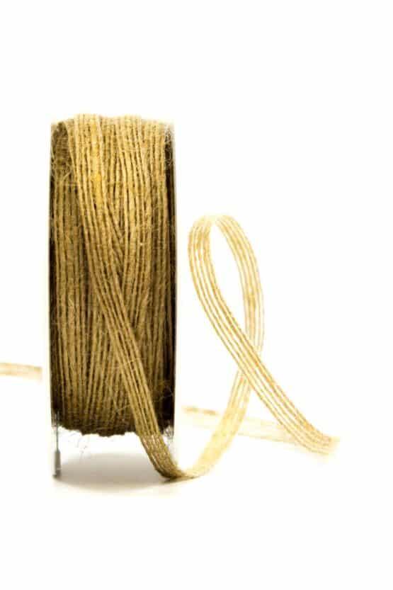 Juteband natur, 5 mm breit - juteband, geschenkband, geschenkband-einfarbig, dekoband, andere-baender