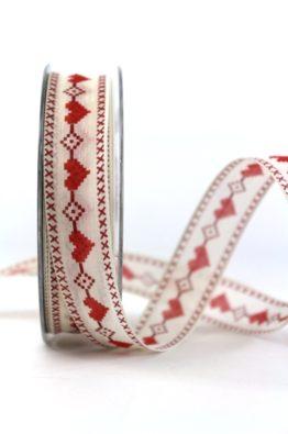 Geschenkband_Stickerei_Herz_rot_25mm_(802162502020)