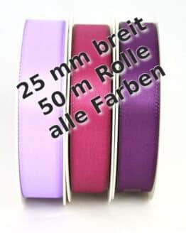 Taftband 25 mm breit - taftband, dauersortiment