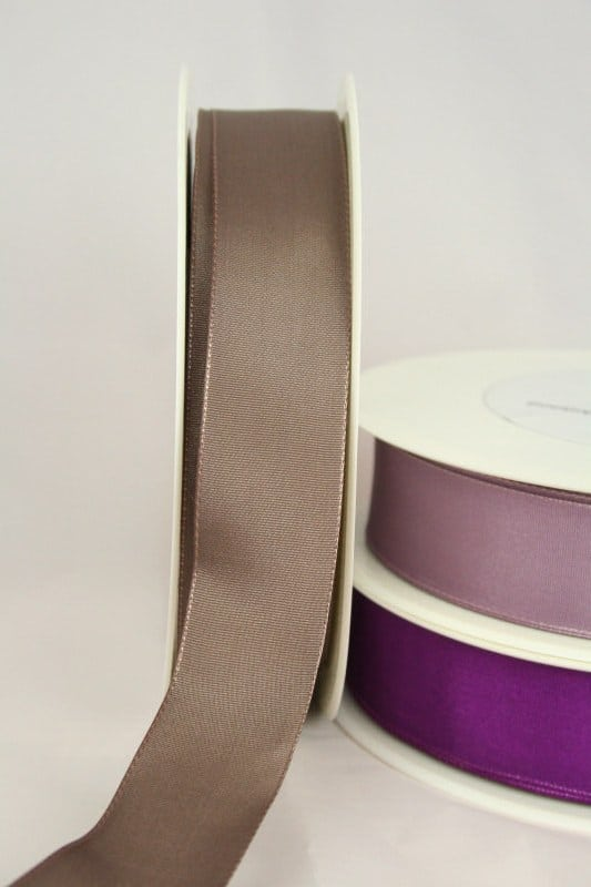Taftband mit Drahtkante, 25 mm breit - taftband-mit-drahtkante, dauersortiment
