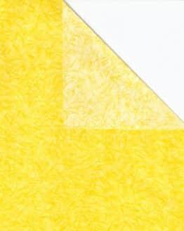 Geschenkpapier-Bogen gelb, 70 x 100 cm - geschenkpapier