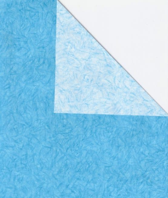 Geschenkpapier-Bogen hellblau, 70 x 100 cm - geschenkpapier