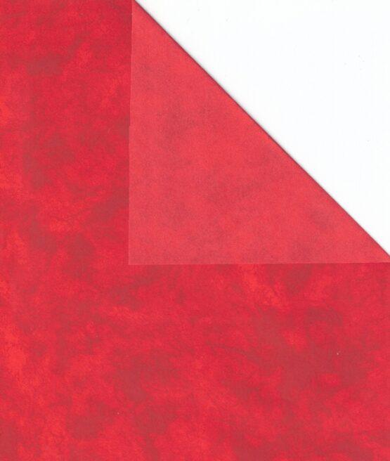 Geschenkpapier-Bogen rot, 70 x 100 cm - geschenkpapier