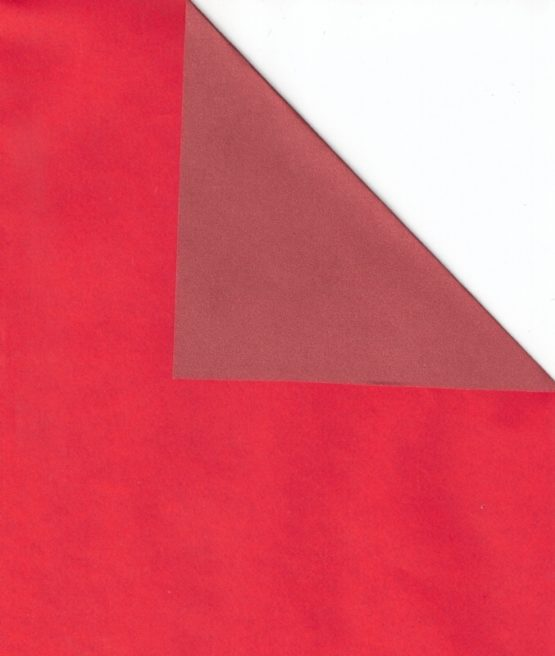 Geschenkpapier-Bogen rot / dunkelrot, 70 x 100 cm - geschenkpapier