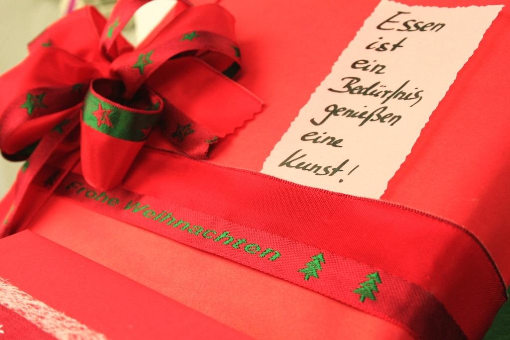 geschenkverpackung weihnachten konditorei geschenkband. Black Bedroom Furniture Sets. Home Design Ideas