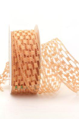 Gitterband apricot (140140-2)
