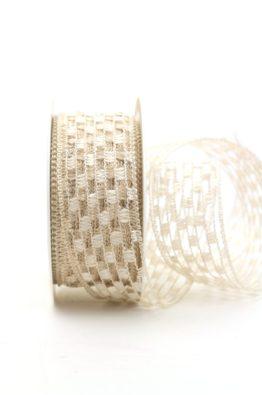 Gitterband creme (140140-3)