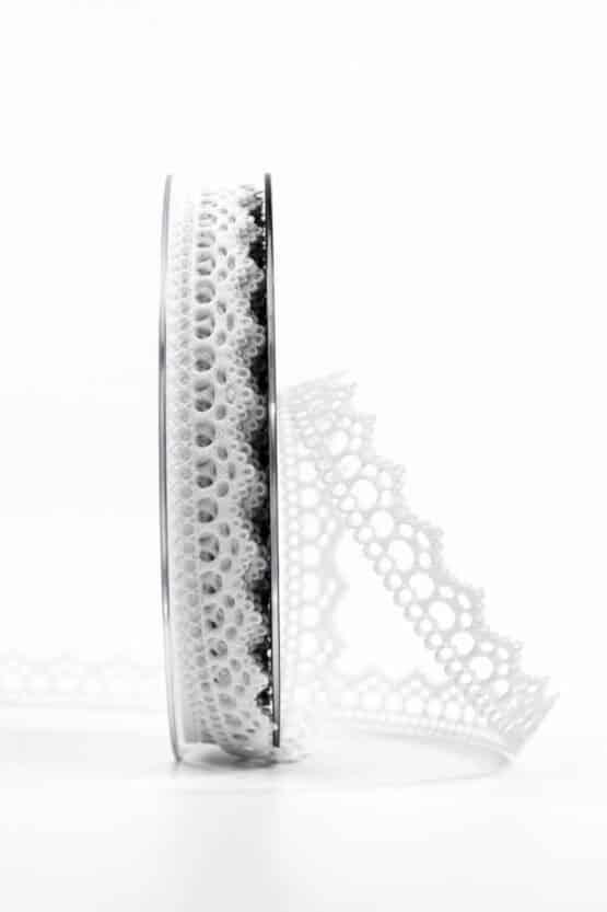 Hochzeitslitze, weiß, 15 mm breit - vintage-baender, spitzenbaender, hochzeit, geschenkband, geschenkband-fuer-anlaesse, anlasse
