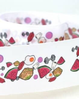 Personalisiertes Geschenkband Taftband (Digitaldruck) - taftband, personalisierte-baender
