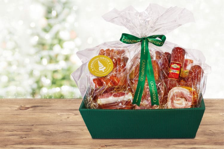 Geschenkkorb stilvoll personalisieren - weihnachtsgeschenke, personaliserte-bander, geschenkverpackungen