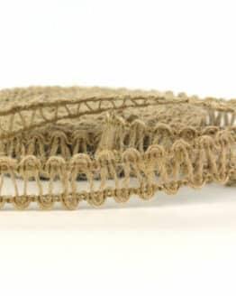 Jute-Leiterband braun, 15 mm - geschenkband, geschenkband-gemustert, dekoband