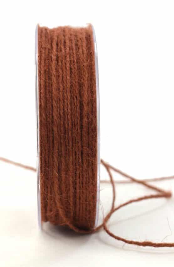 Jute-Kordel/Schnur, braun, 1,5 mm breit - kordeln