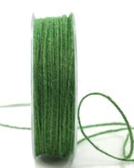 Jute-Kordel/Schnur, dunkelgrün, 1,5 mm breit - kordeln