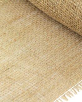 Jute-Tischläufer natur, 25 cm breit, 10 m Rolle - juteband