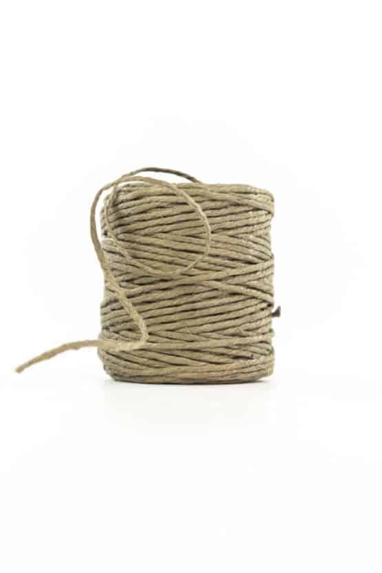 Jute-Kordel, natur-braun, 3 mm stark - kordeln, andere-baender