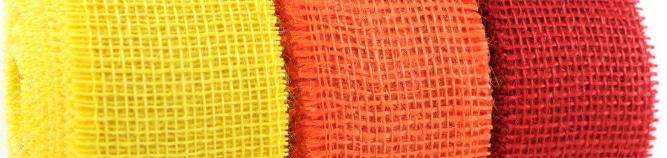 Jetzt neu: Juteband in vielen schönen Farben - juteband, grosshandel, geschenkverpackungen