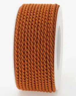 Kordel, rehbraun, 4 mm stark - kordeln, andere-baender
