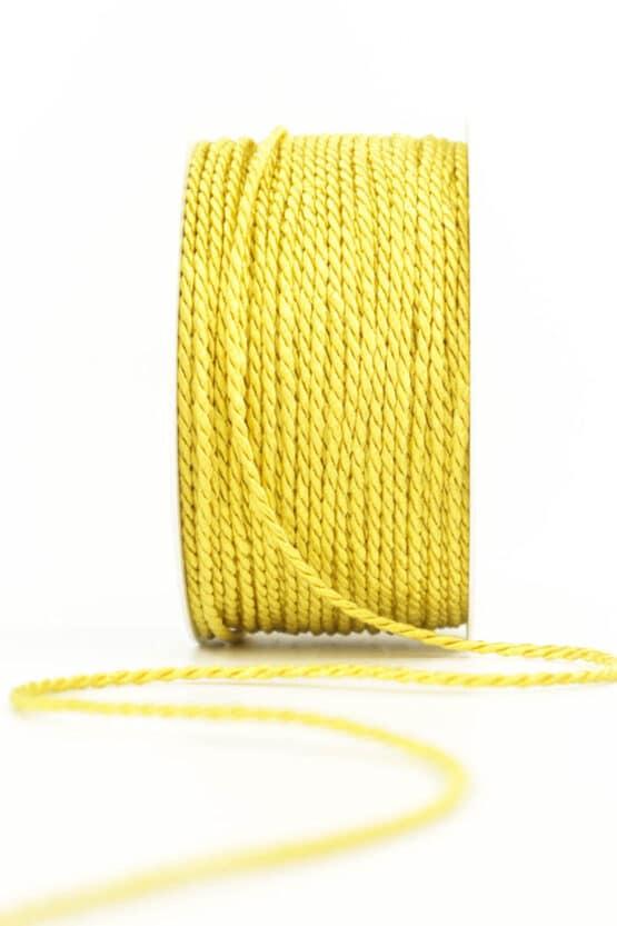 Kordel, gelb, 2 mm stark - kordeln, andere-baender