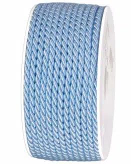 Kordel, hellblau, 6 mm stark - kordeln, andere-baender