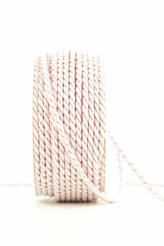Kordel, hellrosa, 4 mm stark - kordeln, andere-baender