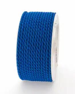 Kordel, königsblau, 4 mm stark - kordeln, andere-baender